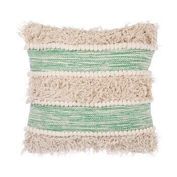 Green Tufted Cushion