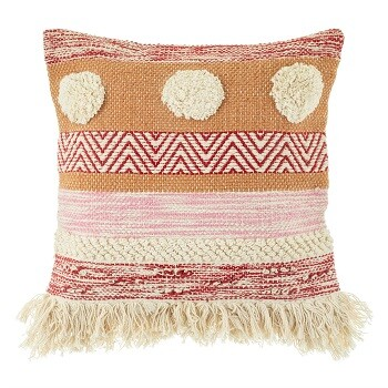 Nevada Pink Stripe Cushion