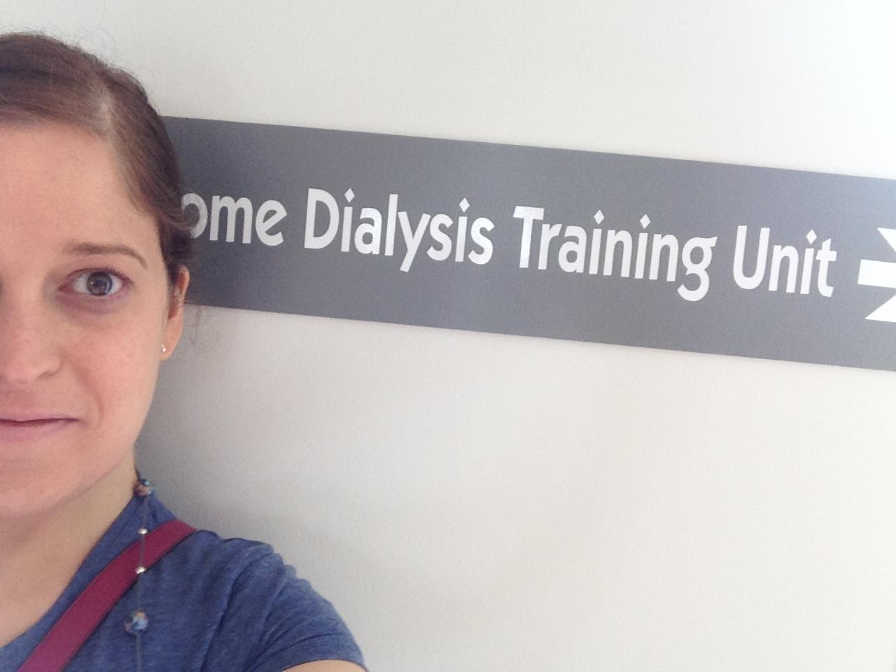 Chorley Home Dialysis Training Unit.
