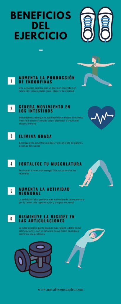 Cómo integrar el ejercicio en tu rutina diaria