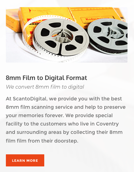 8mm film to digital