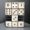 Dice T451 Sid Dickens Tile Block which is shipped from the UK, which is inscribed saying 'Opening the doors to endless possibilities, you never know what will come next...'