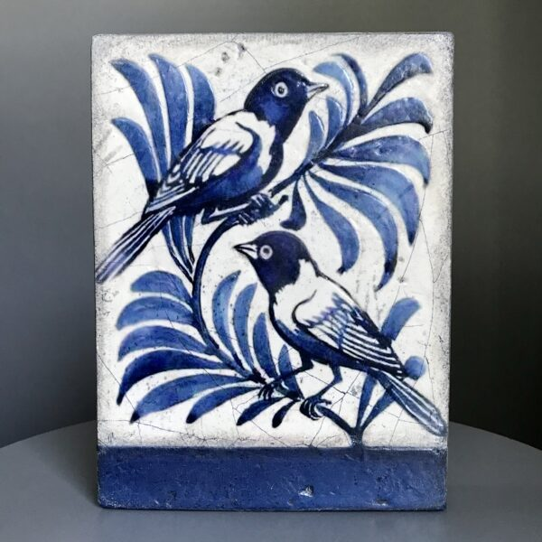 United T413 Retired Sid Dickens Tile is from the Voyage collection which reads 'Partners soaring through the sky champions of love, and desire for change.'