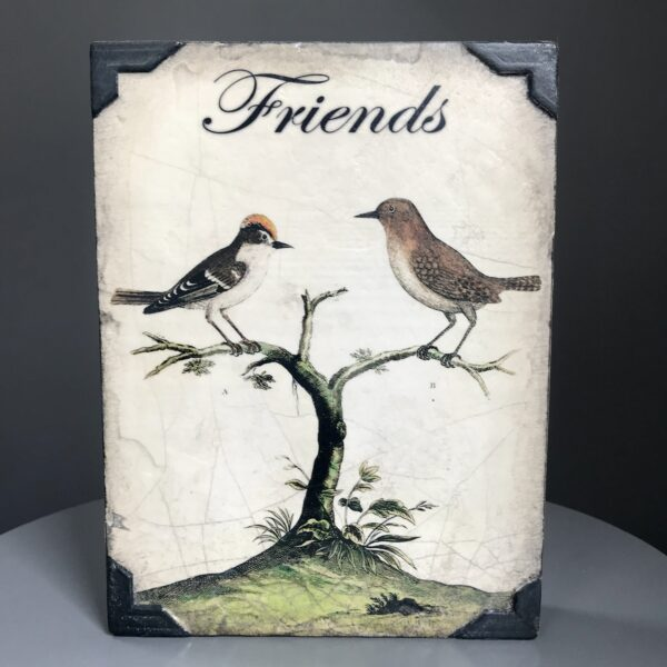 Buy Cherished T466 Sid Dickens Block in the UK, which is titled with 'Near or far, my dearest friend, you are always by my side.'