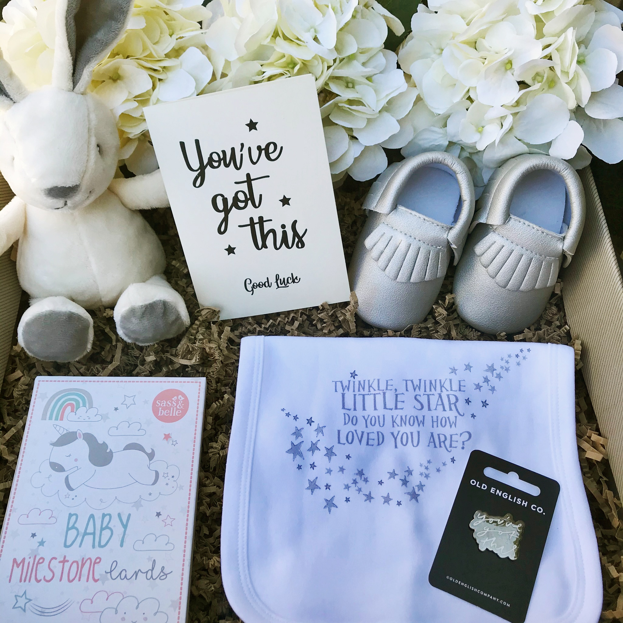 This Baby Gift Box is the perfect gift for a new born baby