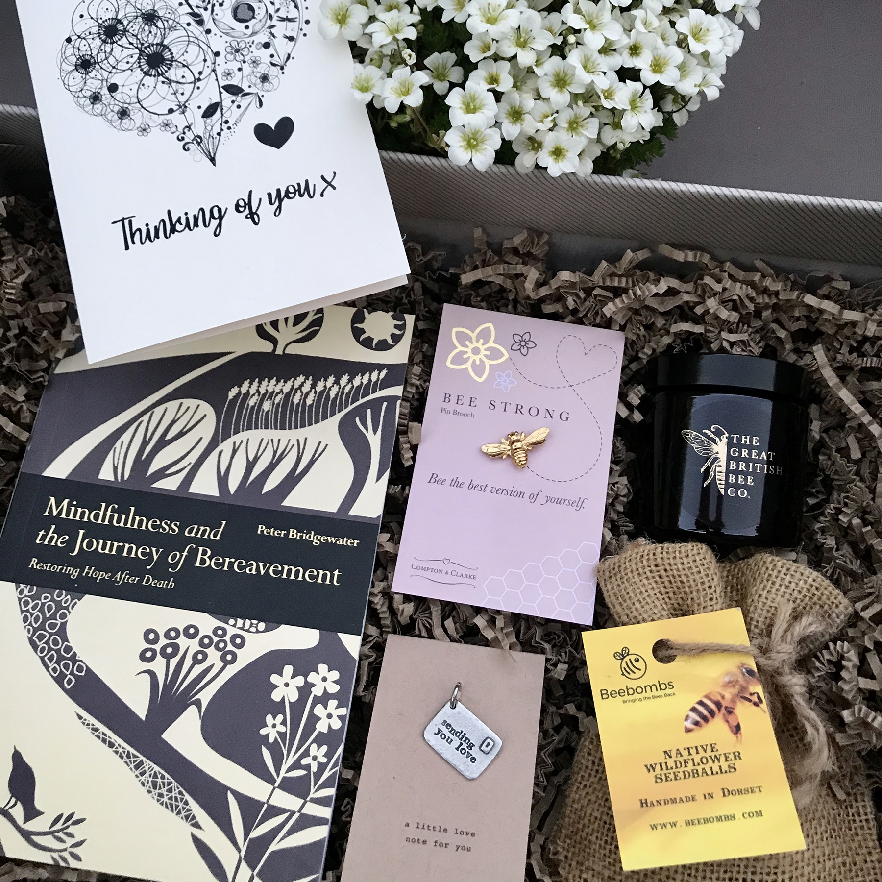 The Comfort Gift Box is designed to give comfort and show love to someone else.