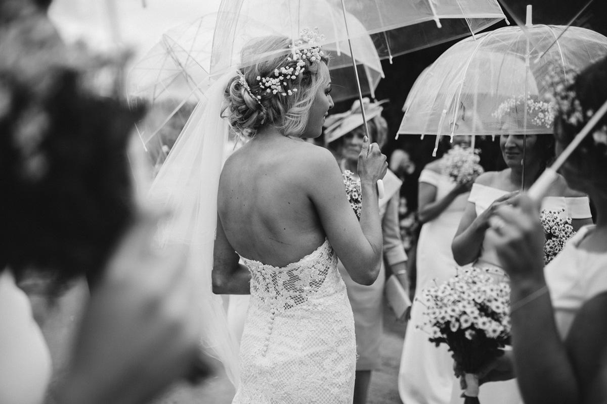 rain wedding