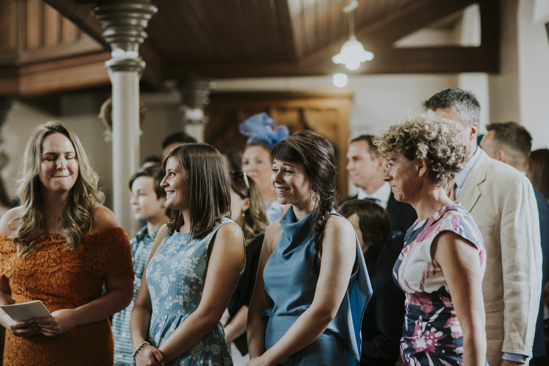 guests at the church