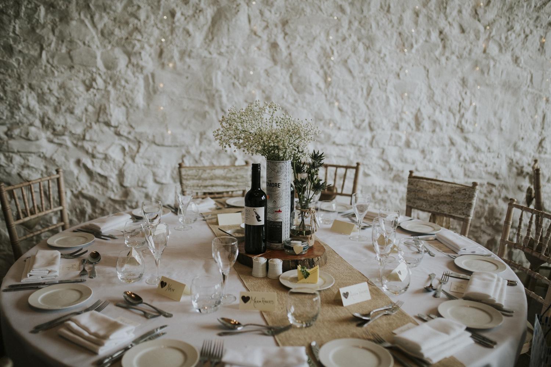 wedding reception at rosedew farm