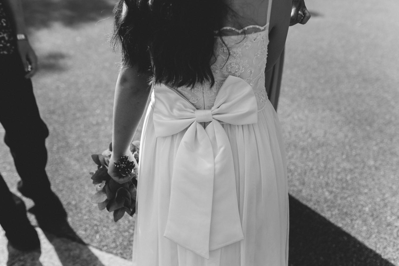 little girl dress details