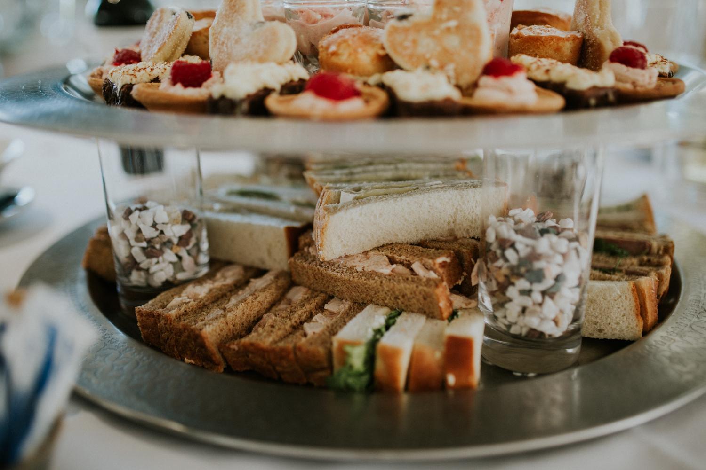 afternoon tea wedding food
