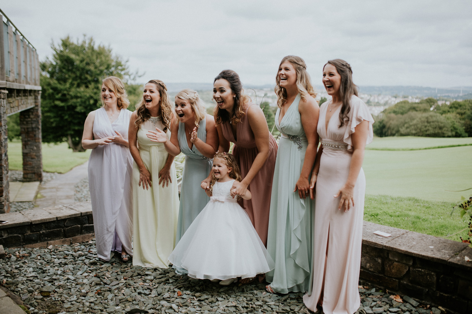 bridesmaids dress reveal
