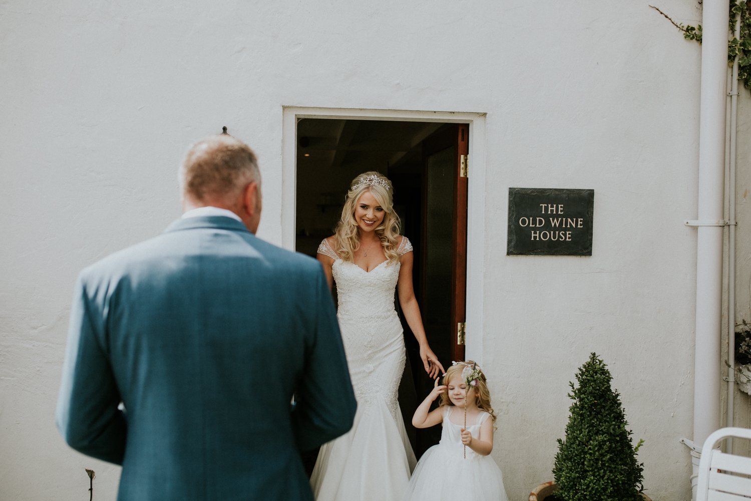 father of the bride dress reveal