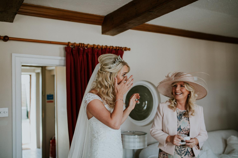 bridesmaids dress reveal