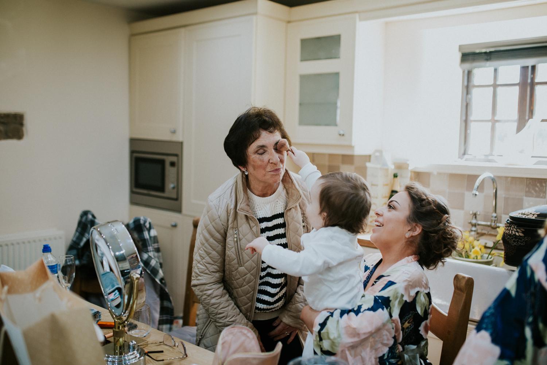 nan and granddaughter