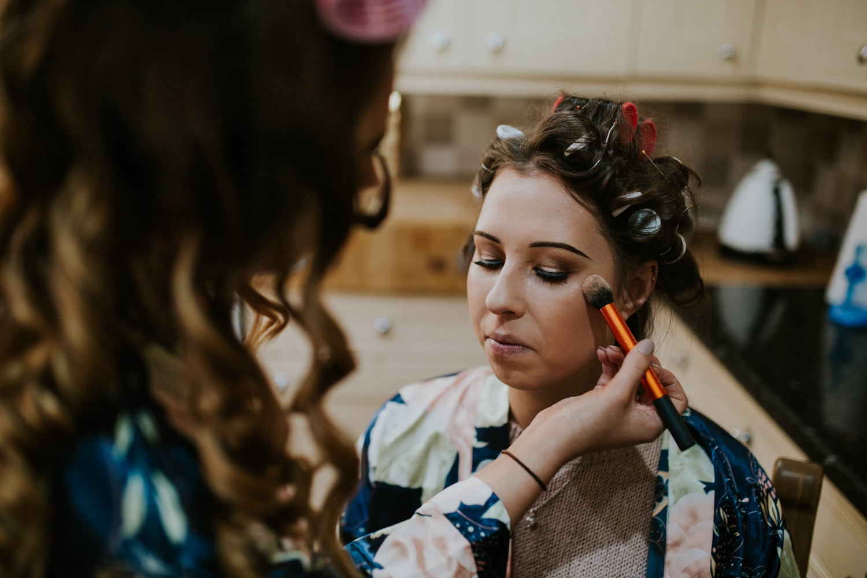 bridesmaids make-up