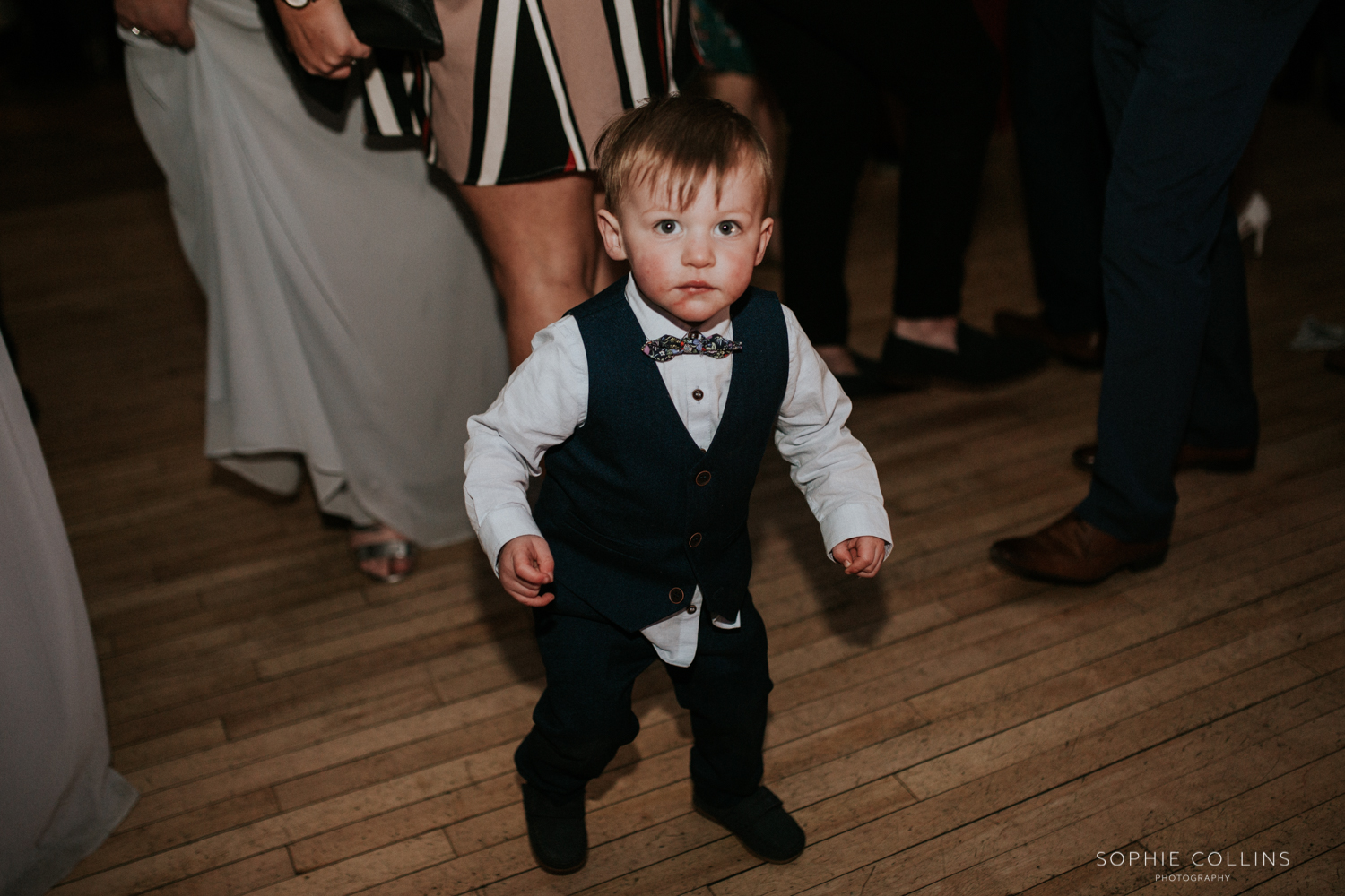 little boy dancing