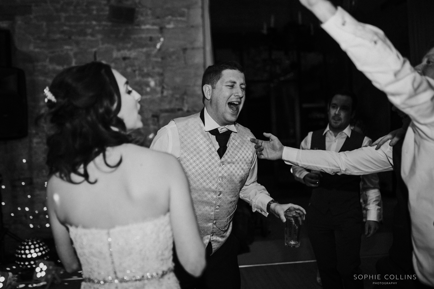 groom dancing