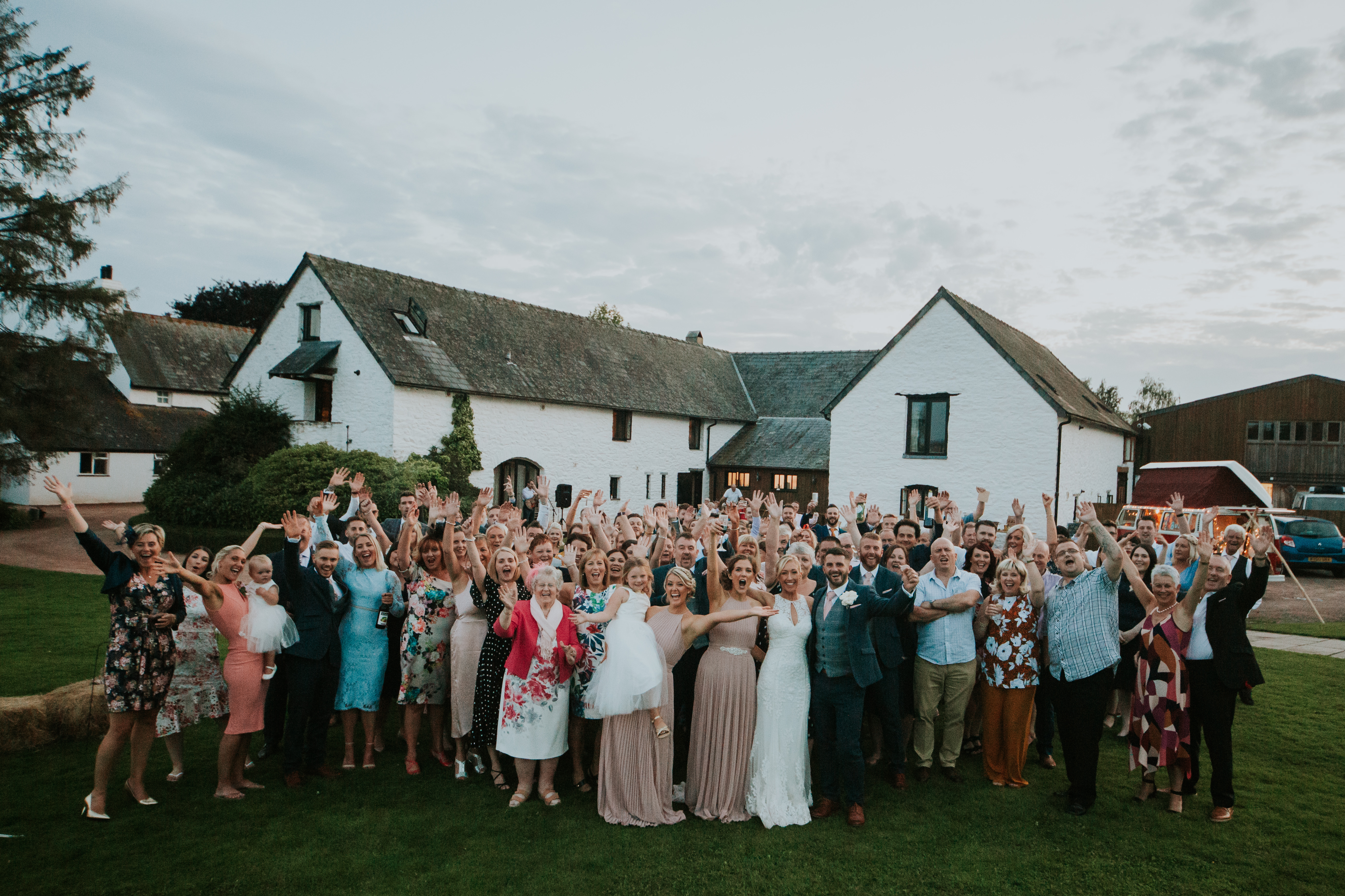 whole wedding party
