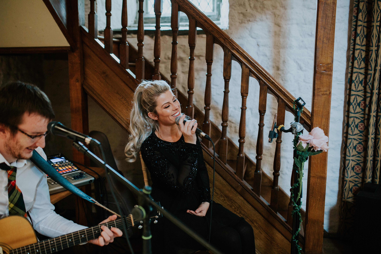 musician singing
