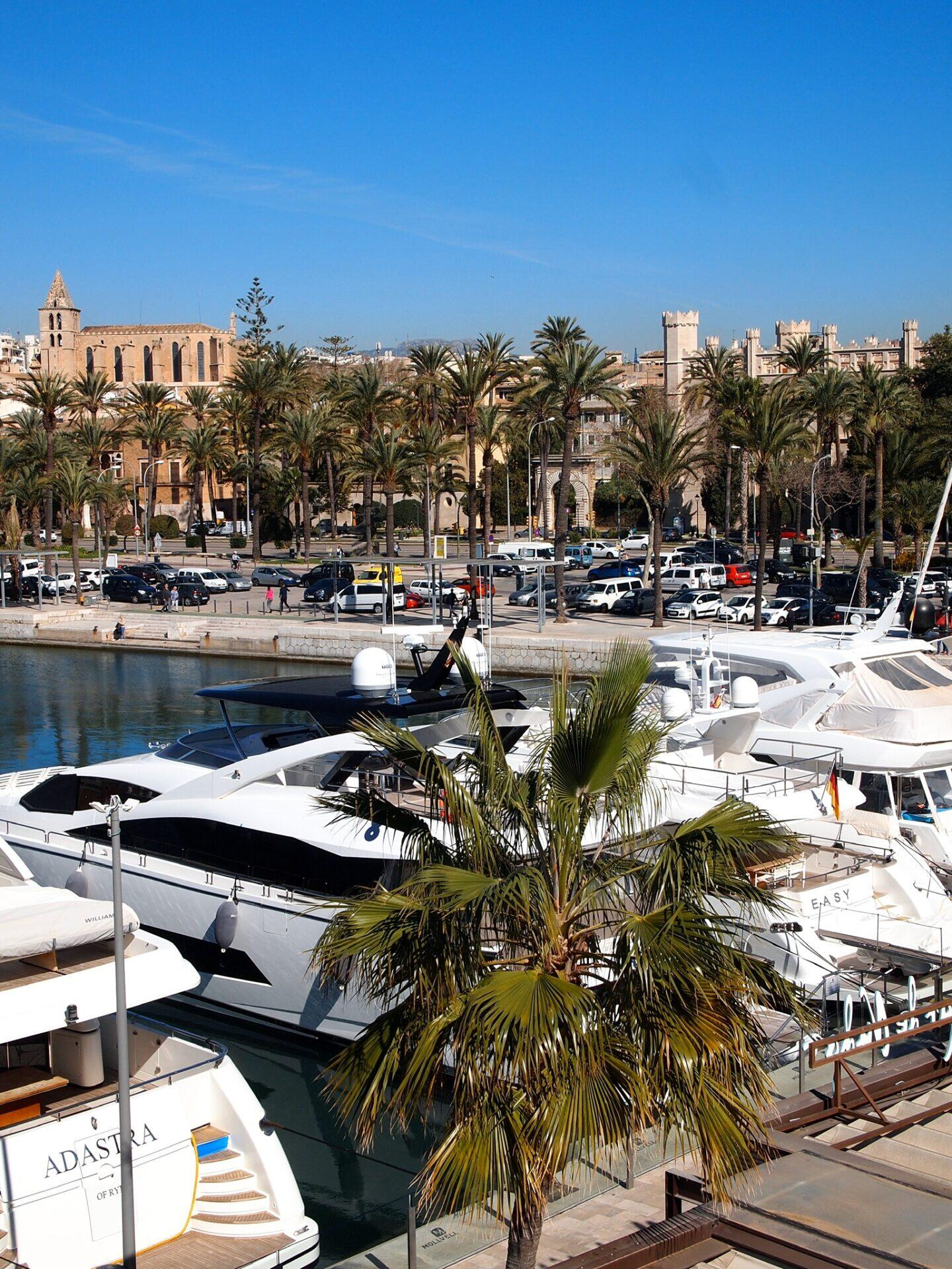 The 2 night Travel Guide to Palma, Mallorca by the Marina