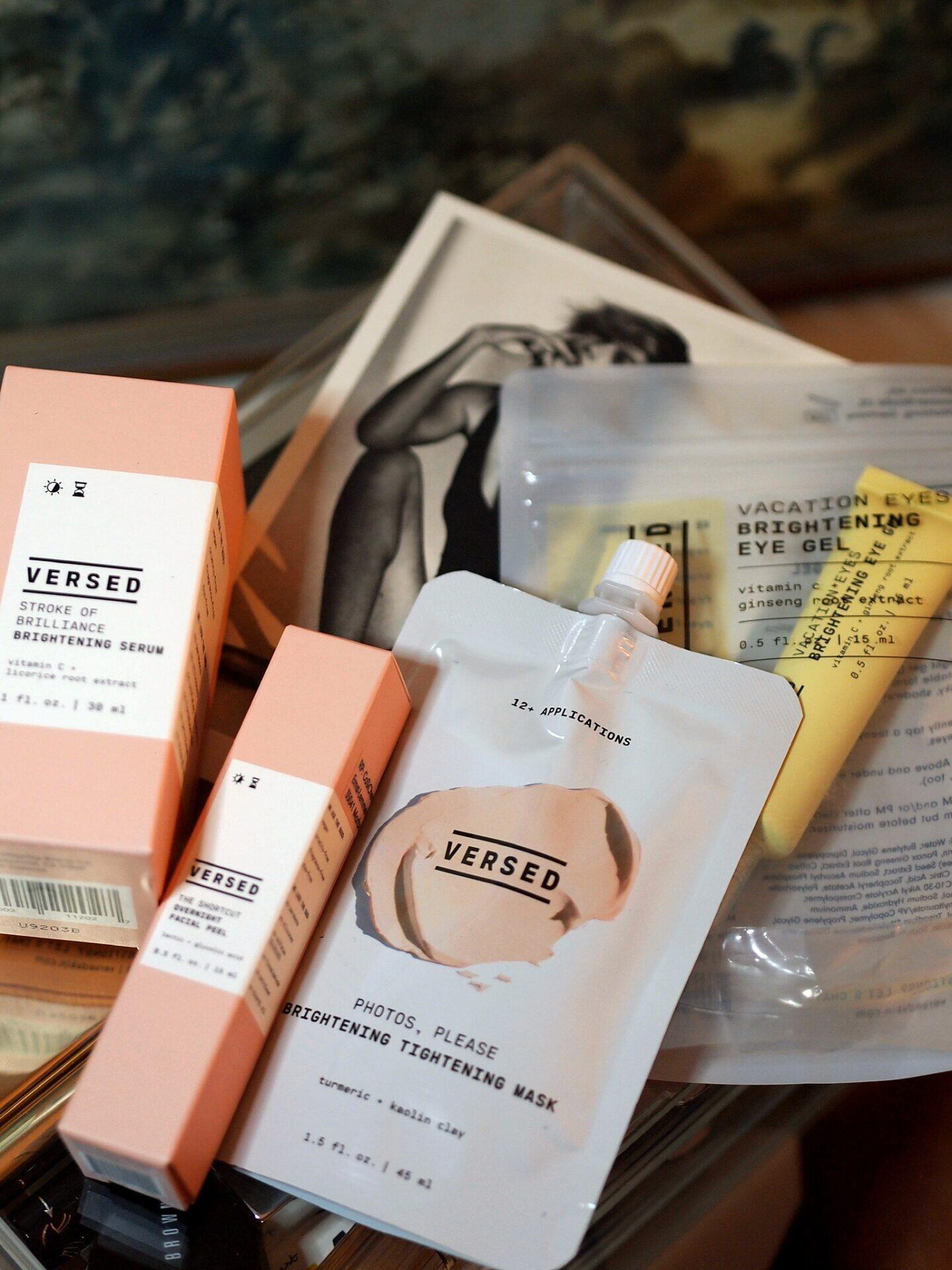 Versed Skincare Review with Sensitive Skin