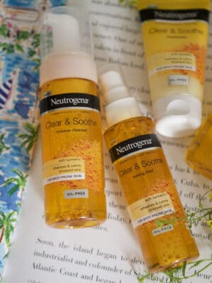 neutrogena clear and soothe moisturiser and toner thoughts