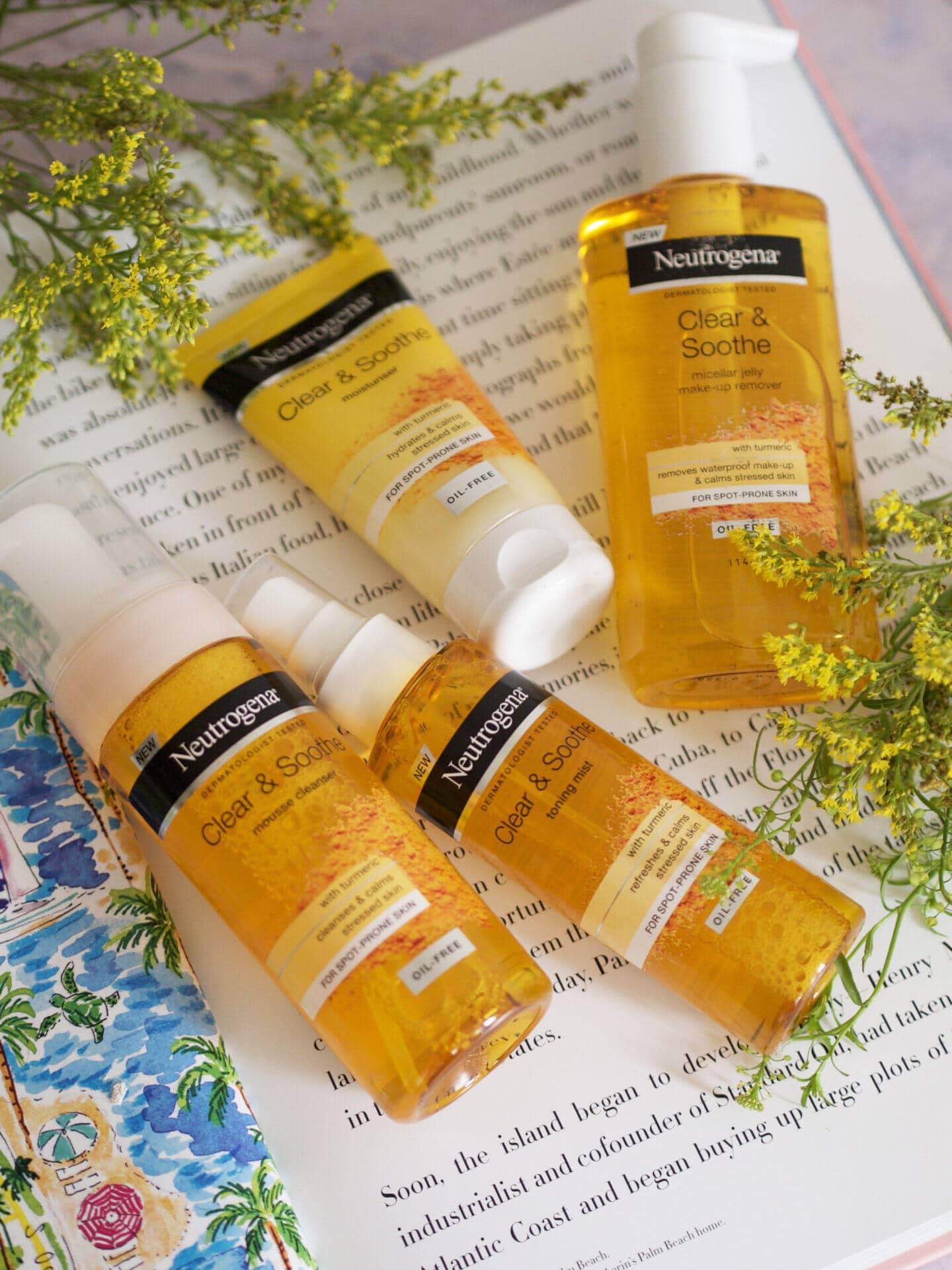 neutrogena clear and soothe review