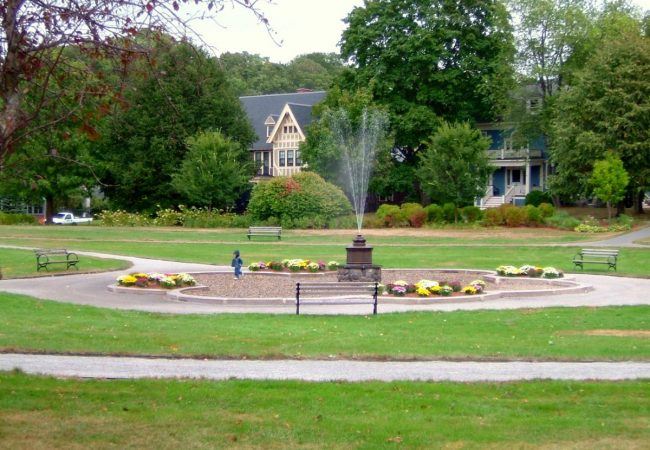 Revitalized Fountain at Fort Hill Park, Lowell, MA (Olmstead Park Restoration)