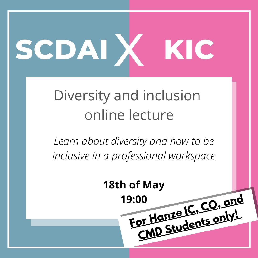 SCDAI KIC lecture event