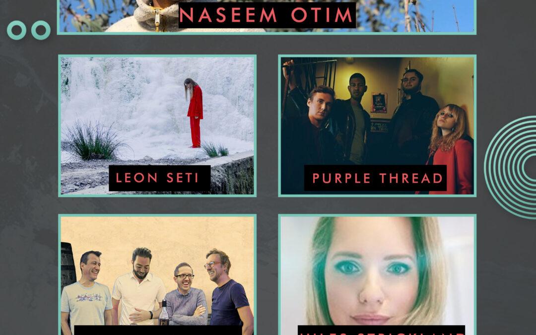 Naseem Otim // Leon Seti // Purple Thread // The Ragged Flags // Jules Strickland