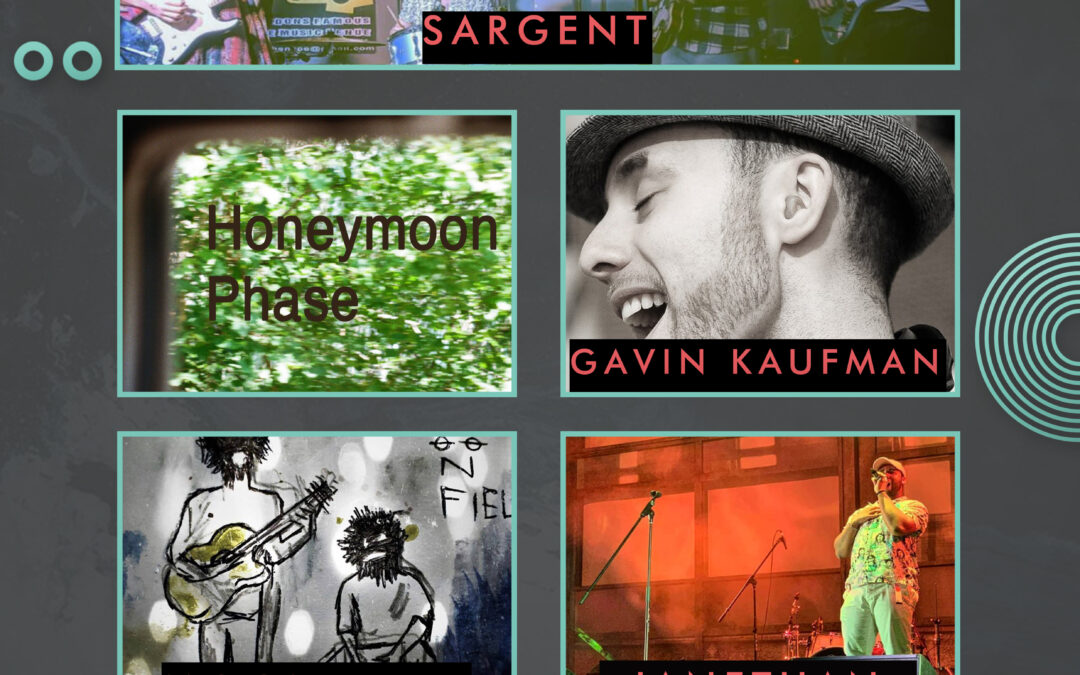 Sargent // Honeymoon Phase // Gavin Kaufman // Moonfield // Janethan
