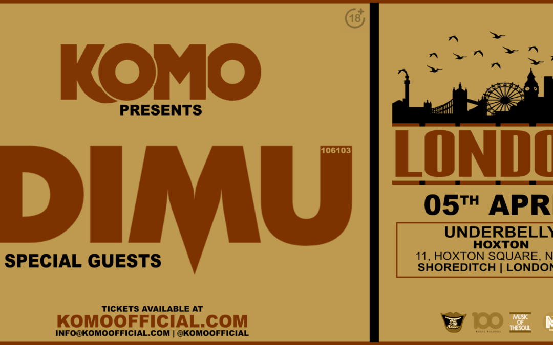 Komo Presents IDIMU – London