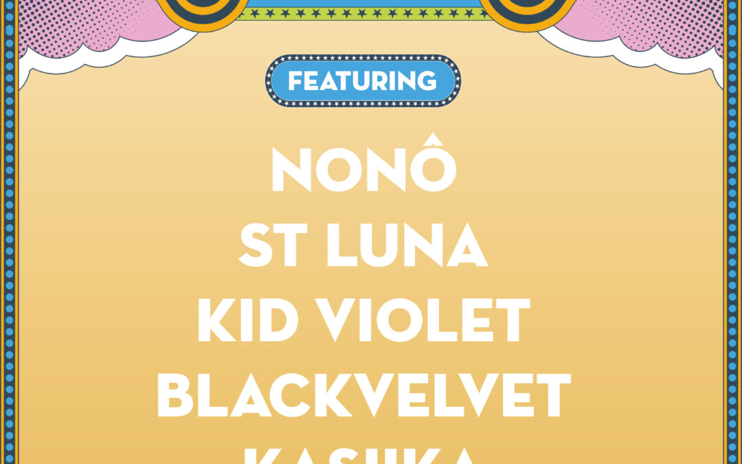 Isle Of Wight Festival New Blood Competition Quarter Finals Featuring: Nonô // St Luna // Kid Violet // BlackVelvet // Kasiika