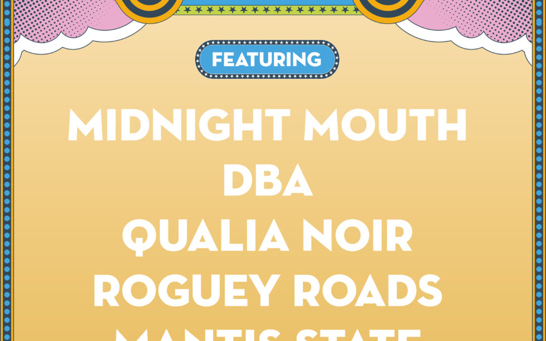 Isle Of Wight Festival New Blood Competition Quarter-Finals Featuring: Midnight Mouth // DBA // Qualia Noir // Roguey Roads // Mantis State