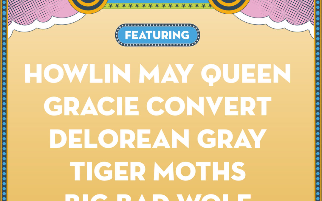 Isle Of Wight Festival New Blood Competition Quarter-Finals Featuring: Howlin May Queen // Gracie Convert // Delorean Gray // The Tiger Moths // Big Bad Wolf
