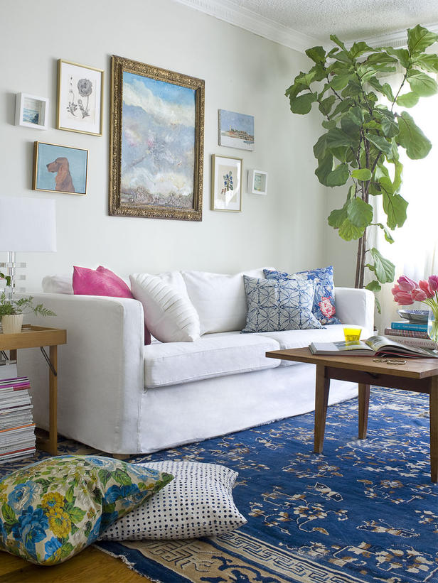Antique Eclectic Living Room