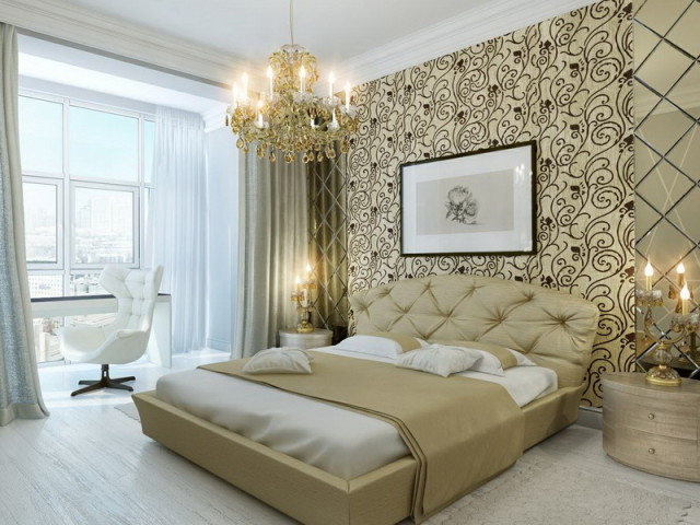 Luxurious-Master-Bedroom-Celebrity-Home-Interiors-Wall-Decor