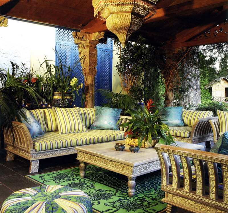Moroccan Outdoor Furniture