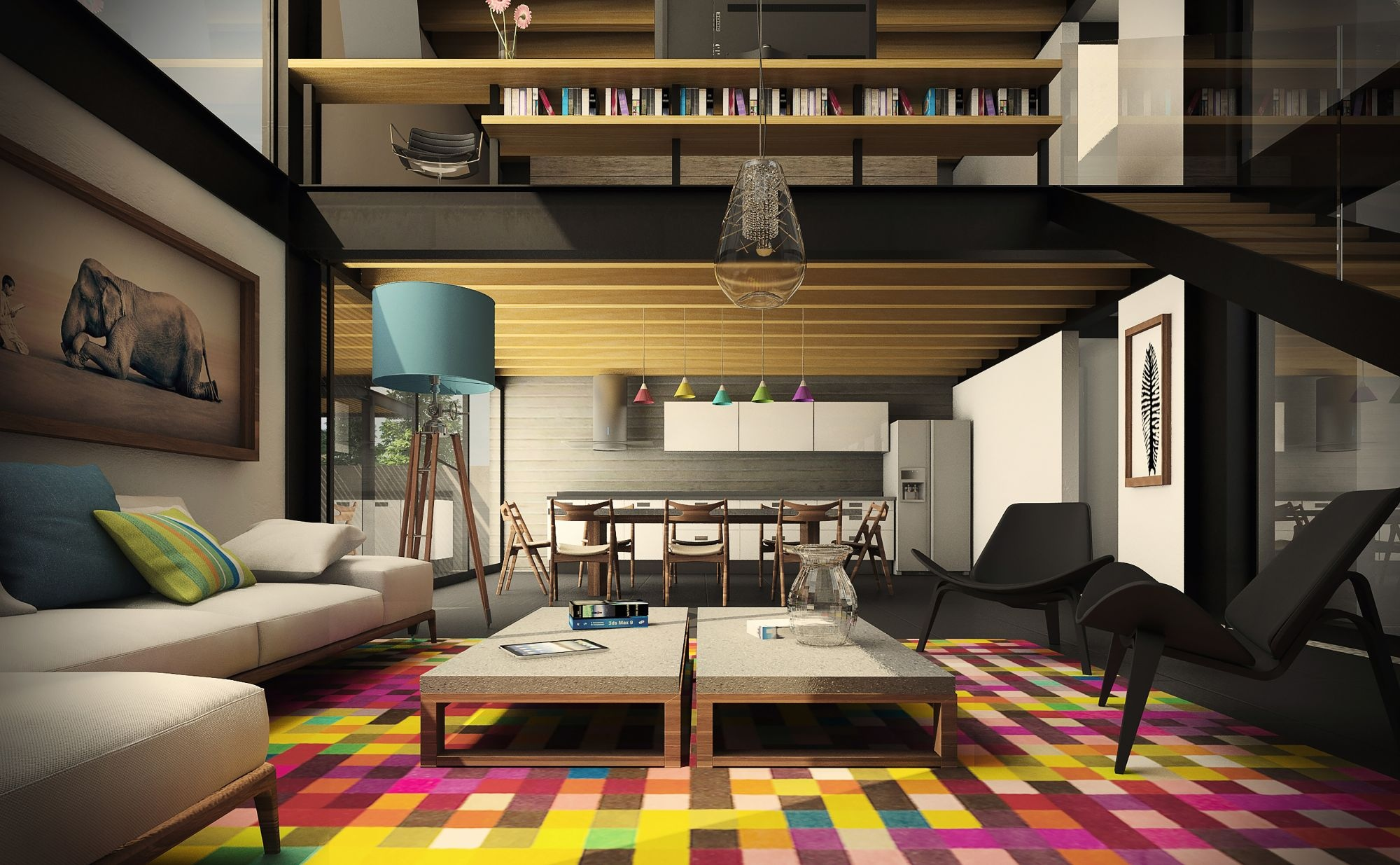 colorful-living-room-design