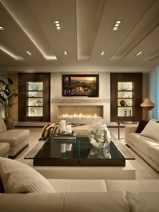 contemporary-living-room-spacious