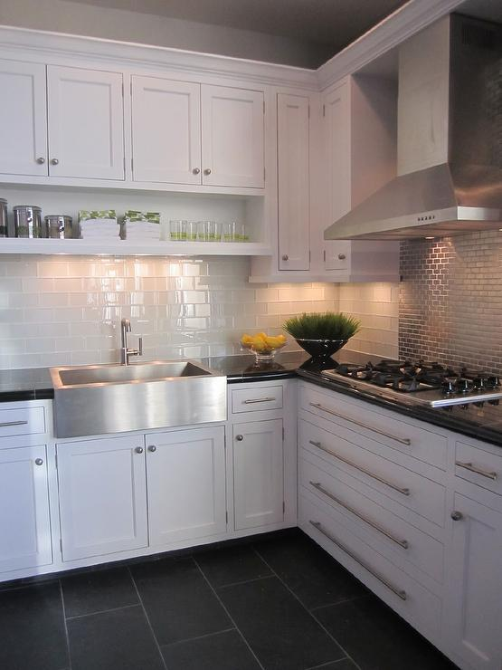 white-kitchen-cabinets-tile-floor