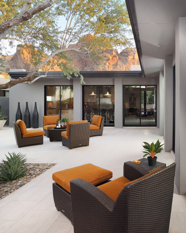 Amazing Ideas of Modern Patio Furniture