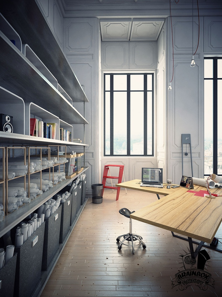 Large-home-office-design