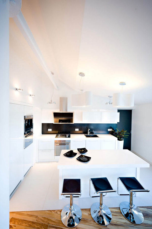 Modern-White-Kitchen-Design-of-Loft-Design-by-GAS