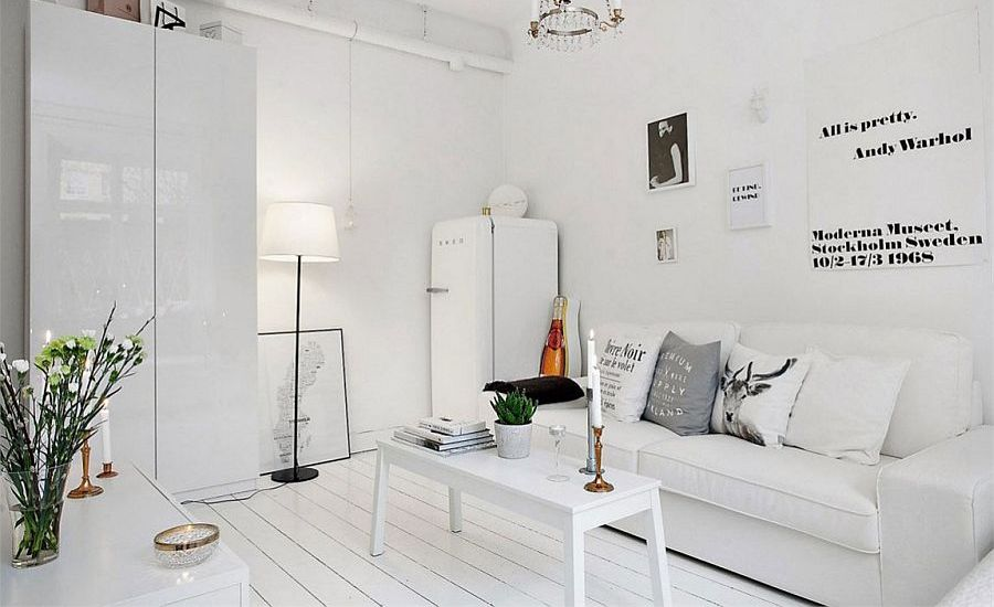Sleek-and-cozy-modern-decor-for-the-small-Scandinavian-apartment