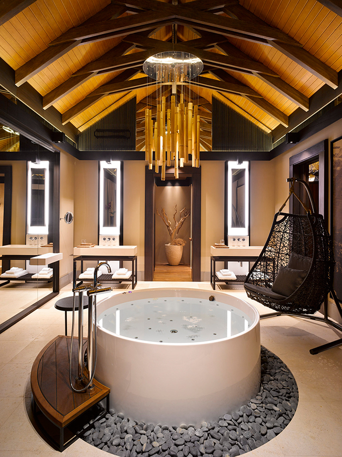 Vanities-celling-with-center-piece-master-bathtub-Amazing-space-at-France