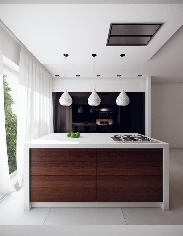 small-modern-kitchen-with-island-simple-decor