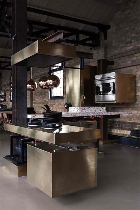 Aluminium-Stainless Steel Kitchens