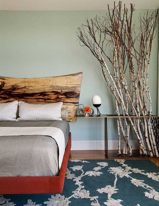 Bedside table decoration